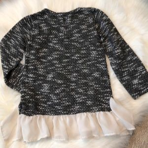 Shirts & Tops - Set of 2 toddler girl frilly sweaters